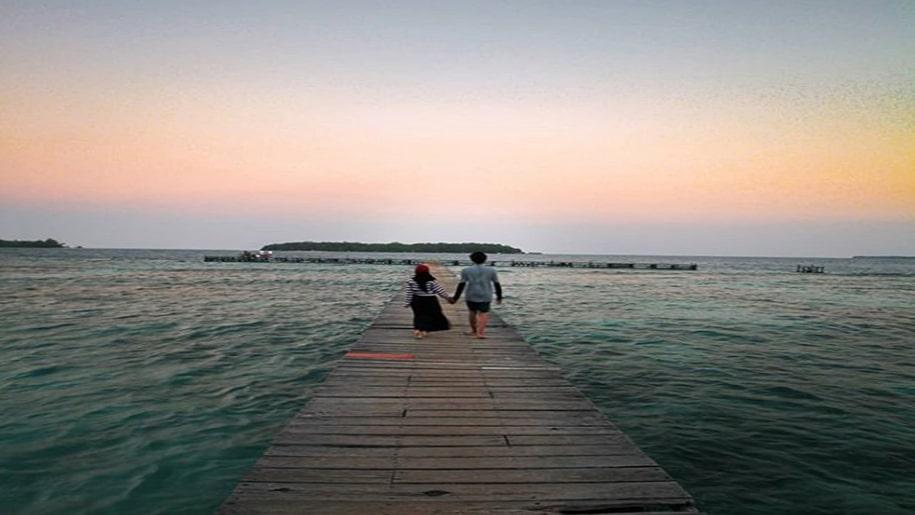 spot instagenic di Kepulauan Seribu
