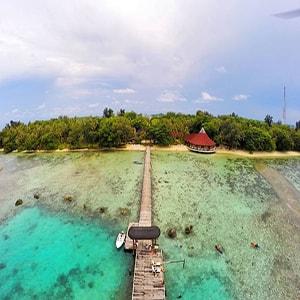 paket pulau pantara - pulau seribu