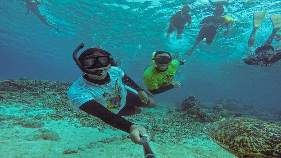 Pengalaman snorkeling terbaik