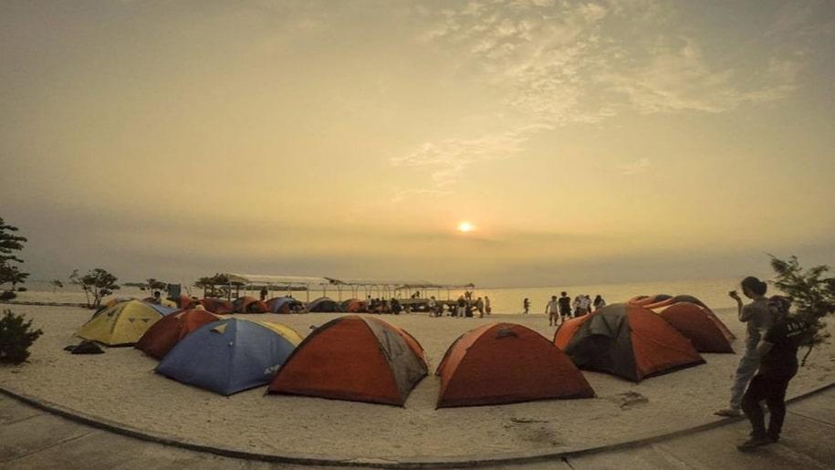 camping di Pulau Seribu