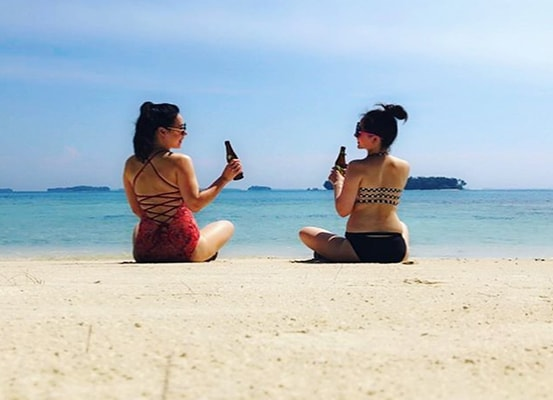 wisata pulau pelangi